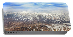 Hindu Kush Snowy Peaks Portable Battery Charger
