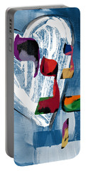 Hineni Heart- Art By Linda Woods Portable Battery Charger