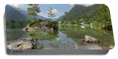 Portable Battery Charger featuring the photograph Hintersee, Bavaria by Andreas Levi