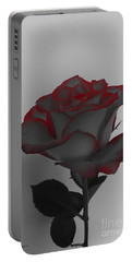 Hints Of Red- Single Rose Portable Battery Charger