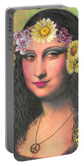 Hippie Gioconda Portable Battery Charger