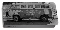 Hippie Van, San Francisco 1970's Portable Battery Charger