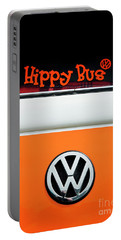 Portable Battery Charger featuring the photograph Hippy Bus by Tim Gainey