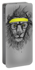 Hipster Lion Portable Battery Charger