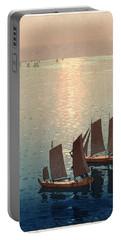 Hiroshi Yoshida, Hikaru Umi, The Sparkling Sea, 1926 Portable Battery Charger