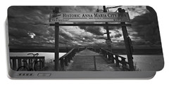 Historic Anna Maria City Pier 9177436 Portable Battery Charger
