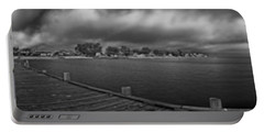 Historic Anna Maria City Pier In Infrared Portable Battery Charger