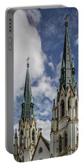 Historic Architecture Portable Battery Charger