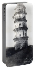 Historic Asian Tower Building Portable Battery Charger