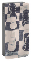 Historic Chess Nostalgia Portable Battery Charger