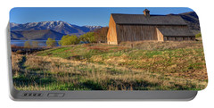 Historic Francis Tate Barn - Wasatch Mountains Portable Battery Charger