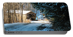 Historic Grist Mill Covered Bridge Portable Battery Charger