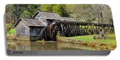 Historic Mabry Mill In Early Spring Portable Battery Charger