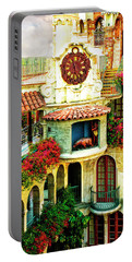 Historic Mission Inn Clock Portable Battery Charger