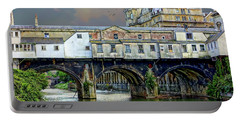 Historic Pulteney Bridge Portable Battery Charger