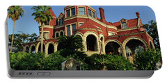 Portable Battery Charger featuring the photograph Historical Galveston Mansion by Tikvah's Hope
