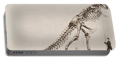 Historical Illustration Of Dinosaur Portable Battery Charger
