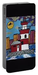 Historical Michigan Lighthouse Portable Battery Charger