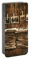 Historical Picture Archive Portable Battery Charger