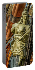 Portable Battery Charger featuring the photograph Hms Surprise by Bill Gallagher