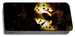 Hockey Mask Horror Portable Battery Charger