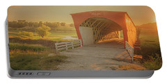 Hogback Covered Bridge Portable Battery Charger