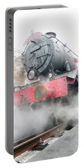 Portable Battery Charger featuring the photograph Hogwarts Express Train by Juergen Weiss
