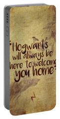 Hogwarts Is Home Portable Battery Charger