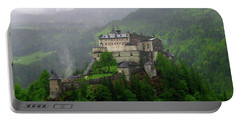 Hohenwerfen Castle Portable Battery Charger by Sheila Ping