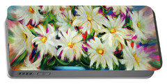 Hola Daisies Portable Battery Charger