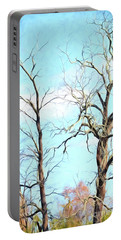 Portable Battery Charger featuring the photograph Holding Hands And Growing Old Together by Kerri Farley