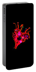 Hole In My Heart Portable Battery Charger