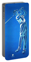 Portable Battery Charger featuring the photograph Hole In One ... by Juergen Weiss