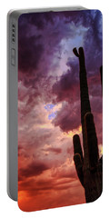 Portable Battery Charger featuring the photograph Hole In The Sky by Rick Furmanek