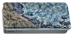 Holgate Glacier Hdr Portable Battery Charger by Richard J Cassato