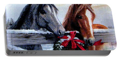 Holiday Barnyard Portable Battery Charger