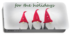 Holiday Gnomes 1 Portable Battery Charger