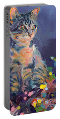 Gray Cat Portable Battery Chargers