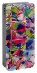 Holiday Rush Portable Battery Charger by Jan Bennicoff