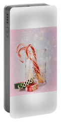 Portable Battery Charger featuring the photograph Holiday Sweets by Diane Alexander