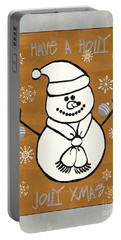 Holly Holly Xmas Portable Battery Charger