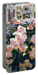 Hollywood Cottage Garden Roses Portable Battery Charger