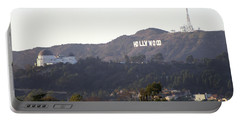 Hollywood Hills And Griffith Observatory Portable Battery Charger
