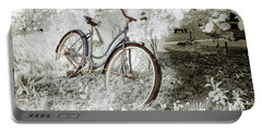 Portable Battery Charger featuring the photograph Hollywood Schwinn II by Craig J Satterlee