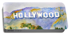 Hollywood Sign California Portable Battery Charger