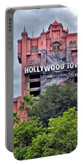 Hollywood Tower Hotel Walt Disney World Mp Portable Battery Charger