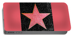 Hollywood Walk Of Fame Star Portable Battery Charger