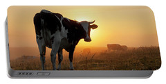 Holstein Friesian Cow Portable Battery Charger