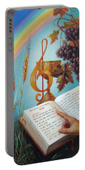 Holy Bible - The Gospel According To John Portable Battery Charger