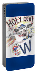 Holy Cow  Portable Battery Charger by Scott and Dixie Wiley